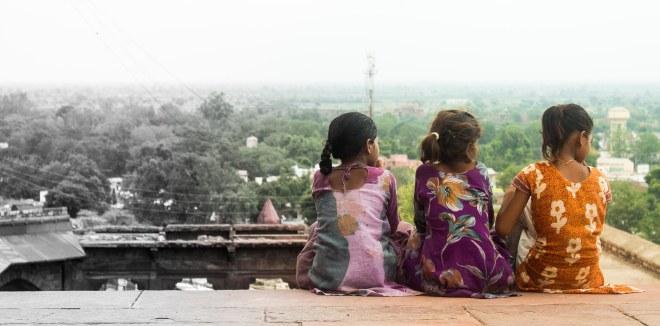 Nueva Delhi desde Jama Masjid