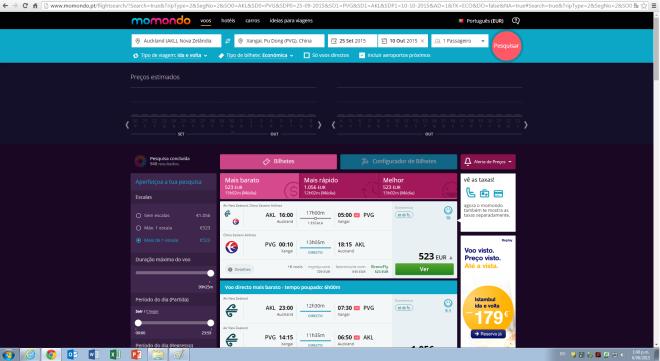 Captura pantalla precio Portugal
